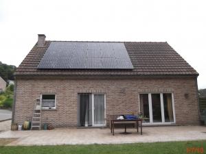 Installation photovoltaïque seneffe hainaut