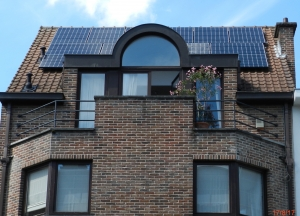 modules panneaux solaires photovoltaïque Bruxelles région bruxelloise sunpower