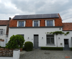 modules PV onduleur SMA Sunpower lasne BW Brabant wallon