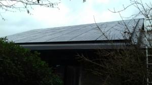 Modules panneaux solaires Hainaut Seneffe BenQ AUO Sunforte 327W