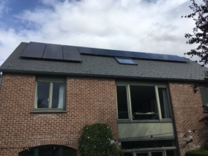BIOLUX Modules paneaux solaire Hainaut Seneffe Trina Solar Honey+ 295 W Black Brabant Wallon Belgique