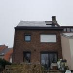 Installation de module photovoltaïque Sunpower X22 360 Wc Braine l'Alleud région wallonne Belgique