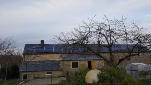 Installation photovoltaïque Région namur Belgique Trina Solar