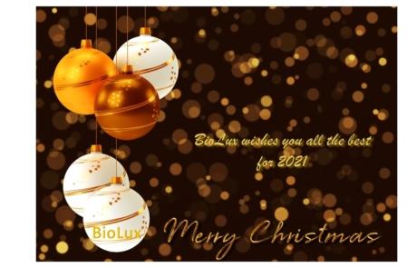 BioLux vous souhaite tout le meilleur pour l'année nouvelle!